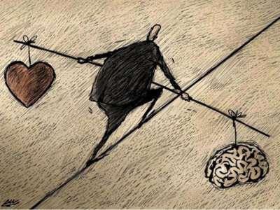 Equilibrio entre corazón y mente